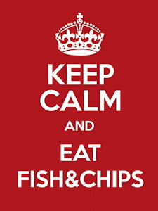 Keep calm and eat fish&chips